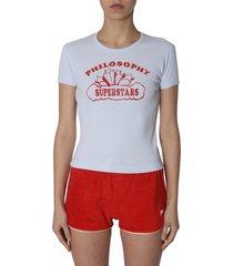 philosophy di lorenzo serafini superstar printed t-shirt