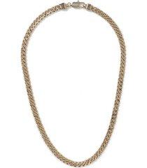 mens gold caspule chain necklace*