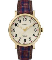 reloj fashion rojo timex
