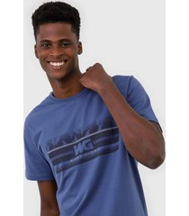 camiseta wg clear stripes azul - kanui