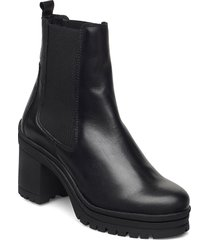molly shoes boots ankle boots ankle boot - heel svart pavement