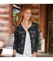 moonlit garden cardigan sweater