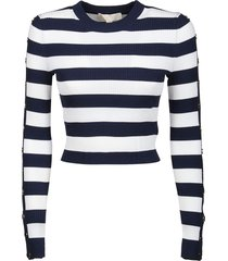 michael kors stripe sweater