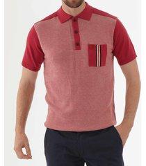 gabicci vintage belair polo shirt - grenadine v42gm02