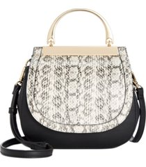 alfani mini binding bracelet handle bag, created for macy's