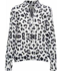 aaf top flamme grid blouse
