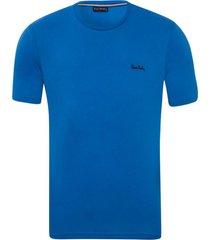 camiseta malha básica azul havai - kanui