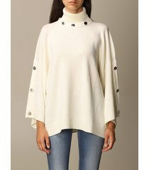boutique moschino sweater boutique moschino oversized pullover with buttons