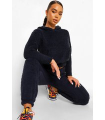 nepwollen oversized hoodie, navy