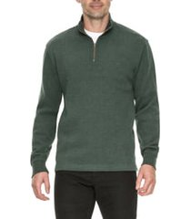 men's rodd & gunn alton ave regular fit pullover sweatshirt, size large - green