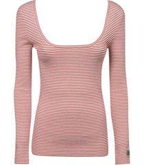 etro stripe print sweatshirt