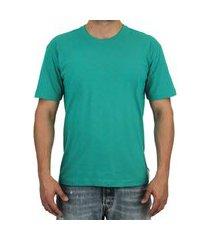 camiseta pau a pique básica verde agua