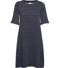 majken kort klänning blå jumperfabriken