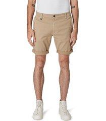neuw denim men's cody roll cuff denim shorts, size 33 in sand at nordstrom