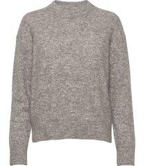 anour o-n 7355 stickad tröja grå samsøe samsøe