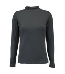 camisa térmica segunda pele manga longa nord outdoor under confort - feminina