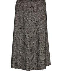 alice york skirt knälång kjol multi/mönstrad mos mosh