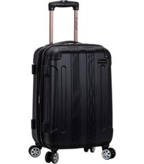 "rockland sonic 20"" hardside carry-on spinner"