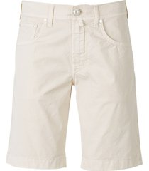 cotton denim bermuda shorts
