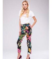 spodnie black lila