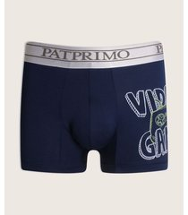 pantaloncillo microfibra con screen en costado.