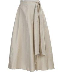 antonelli stretch cotton skirt