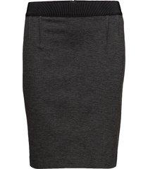 olally knälång kjol grå inwear