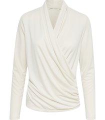 alano wrap blouse