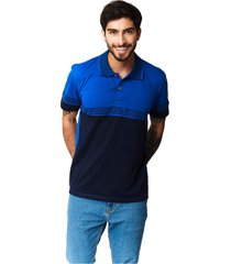 camiseta tipo polo-puntazul-azul rey-41452