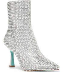 betsey johnson jana embellished dress booties women's shoes