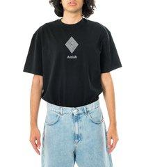 amish t-shirt uomo jersey sw nero p21amu200ca16xxx1.blk