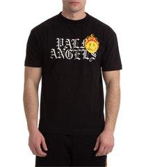 palm angels smiley burning head t-shirt