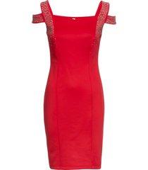 abito elegante con applicazioni (rosso) - bodyflirt boutique