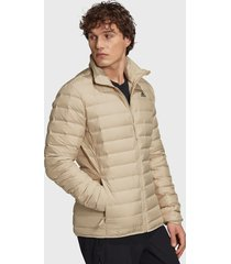 chaqueta adidas outdoor varilite soft j beige - calce regular