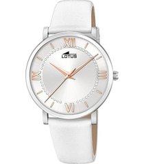 reloj 18701/5 trendy blanco lotus
