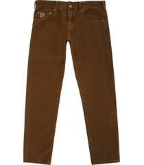 lois jeans sierra thin cord trousers - brown 196-5083