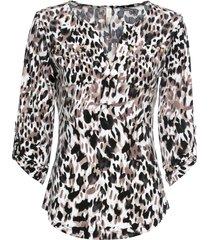 maglia con maniche a 3/4 (marrone) - bodyflirt boutique