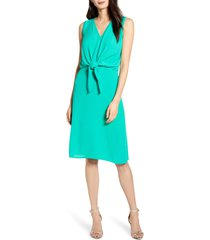 women's chelsea28 sleeveless tie front dress