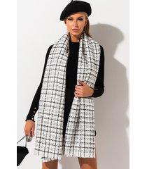 akira harleah tweed scarf