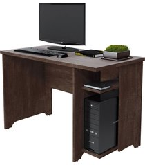 mesa para estudo frança rv móveis marrom - tricae