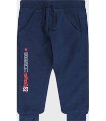 pantalón azul-rojo-blanco boboli