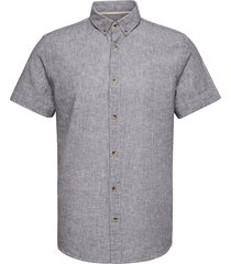 akknud shirt kortärmad skjorta blå anerkjendt