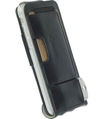 funda krusell para iphone 6s / iphone 6 -ekero flexi flip wallet classic -negro
