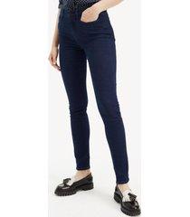 jeans skinny carlotta azul tommy hilfiger