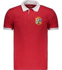 camisa british and irish lions retrô 1974 masculina