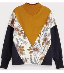 scotch & soda colourblock sweater