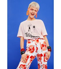 organic t-shirt by miranda makaroff - red - l