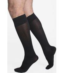 calcetín skywalk con compresión 16/20 mmhg gris oscuro ibici