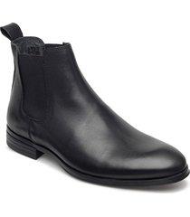 lowchelseaboot shoes chelsea boots svart lindbergh