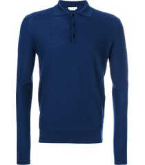 fashion clinic timeless knitted sweater - blue